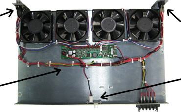 custom fan tray for telecom cooling solution
