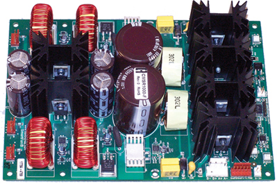 Custom Fan Tray Controller using four 3A 48V fans