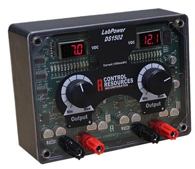 dual 12 VDC variable bench top power supply labpowerbenchtop dc power supply sv1