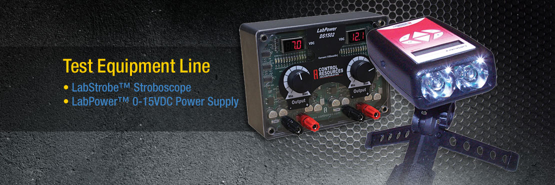 Test Equipment Line | LabStrobe Stroboscope | LabPower 0-15VDC Power Supply