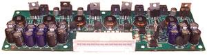 Custom Fan Tray Controller using six 2A 12V fans