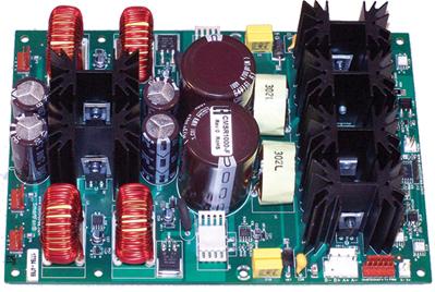 Custom Fan Tray Controller using four 3A 48V fans