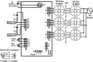 ac tach wiring oem digital fan speed alarm monitor tach pulses tachscan 3  fan speed alarm monitor tach pulses