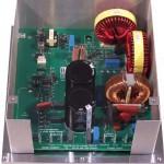 Custom AC motor speed control