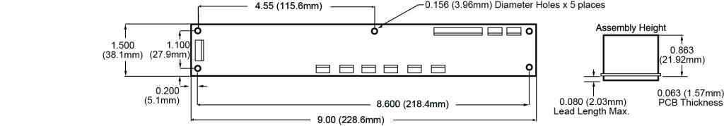 Cirrus-6 Dimensions